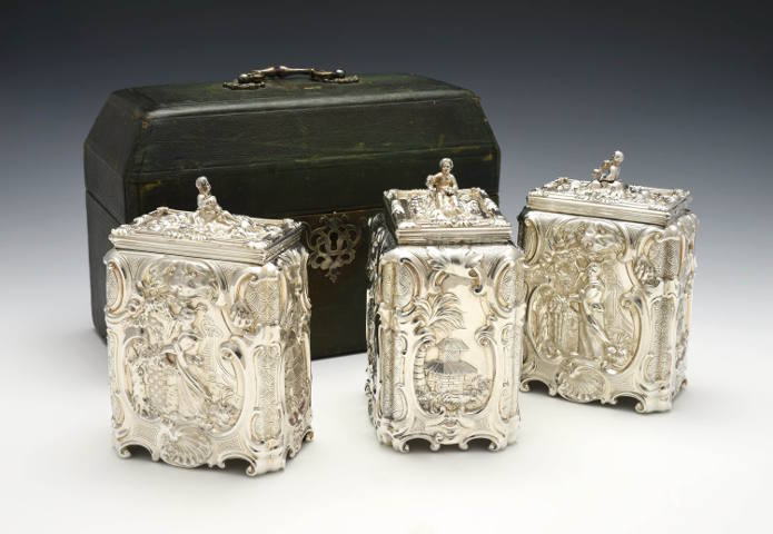 Huntington Museum of Art Acquires Exceptional Sugar/Tea Caddy Set