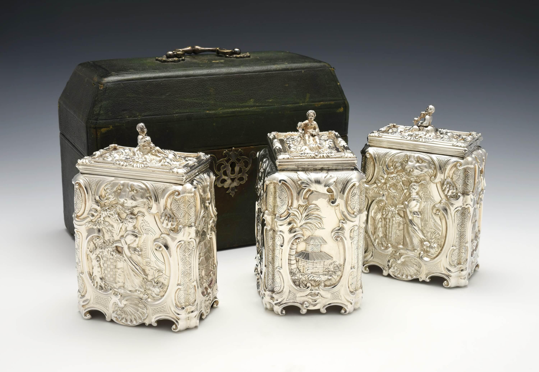 Huntington Museum of Art Acquires Exceptional Sugar/Tea Caddy Set