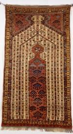 Rug, Turkoman, ca. 1875. Wool; Overall: 69