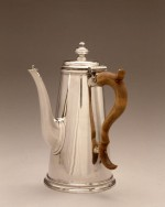Paul de Lamerie (English, 1688-1751), Lighthouse Coffeepot, 1717-1718. Silver; Overall: 9 1/2