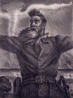 John Steuart Curry (American, 1897-1946), John Brown, 1939. Lithograph, plate: 14 3/4