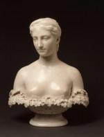 Hiram Powers (American, 1805-1873), Proserpine, ca. 1844. Marble, 73 1/4