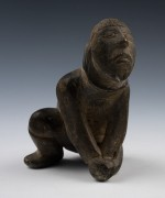 "Unknown Artist (Inuit), Untitled, c. 1950. Stone, 6 1/8"" x 3 ½"" x 4"" (15.6 x 8.9 x 10.2 cm). Bequest of Mr. Herman P. Dean, 1978.2.5"