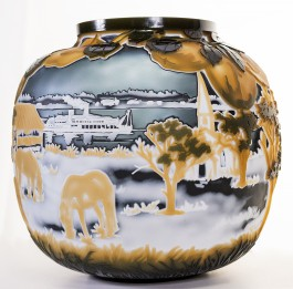 A Fragile Peace: The Magic of American Cameo Glass From The Touma Collection