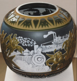 Pilgrim Cameo Glass from the Touma Collection