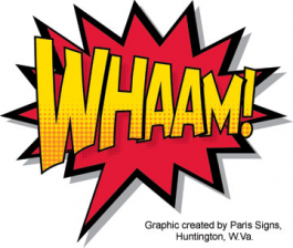 The Herald-Dispatch Presents WHAAM!: Original Comic Drawings from the Collection