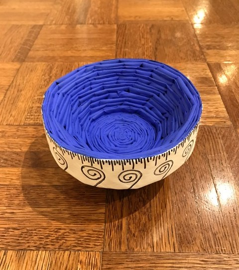 Measuring Bowl  by Saun Edie Teacher: Cheryl Judy  Sherman Jr High
