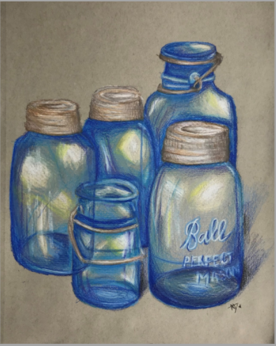 Grandmother's Jars by Avaree Dennison<br /> Winfield Middle School<br />